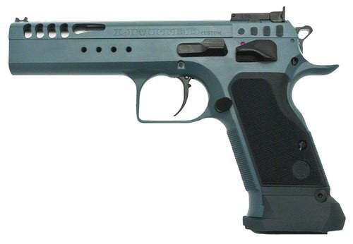"EAA Witness Limited Custom, 10mm, 4.75""  Barrel, 14rd, Ambidextrous Safety, Steel Tancoat"