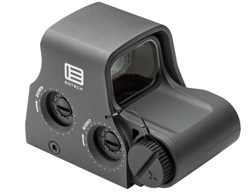 EOTech XPS2 Holographic Weapon Sight 1x 68 MOA Ring/1 MOA Dot Gray CR123A Lithium (1)