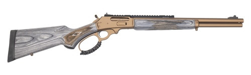 "Marlin 1895 SBL Modern Lever Hunter MLH Custom Shop, .45-70, 18"" Barrel, Bronze Cerakote, Happy Trigger, Action Job"