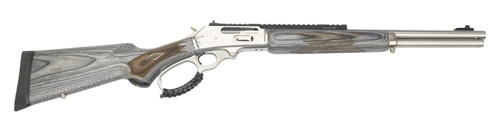 "Marlin 1895 SBL Modern Lever Hunter MLH Custom Shop 45-70, 18"", Happy Trigger, Action Job, Stainless Steel, 6rd"