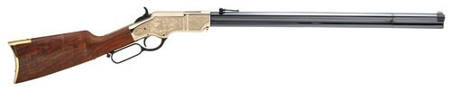 """Henry Original Deluxe Engraved 3rd Edition, .44-40 Win, 24.5"""", 13rd, Walnut"""