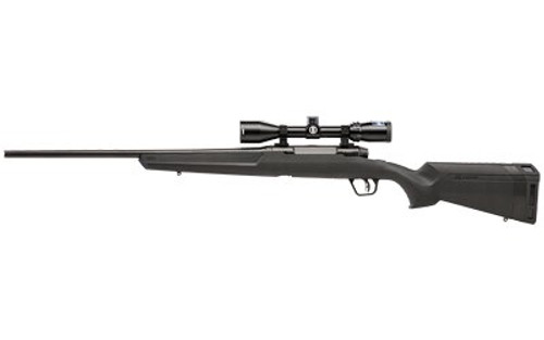 "Savage Axis II XP, .280 Ackley, 22"" Basrrel, 4rd, 3-9-x40mm Bushnell Scope, Black"