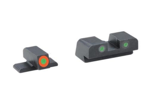 AmeriGlo Spartan Tactical Tritium Night Sight Set For Springfield XD Orange/Green