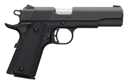 "Browning 1911 Black Label, .380 ACP, 4.25"" Barrel, 8rd, Black"