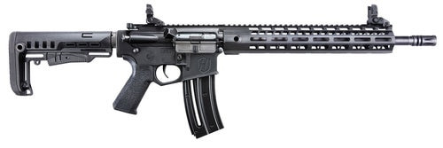 "Hammerli Tac R1 AR-15 22 LR, 16"" Threaded Barrel, MFT Minimalist Stock, M-LOK Handguard, Flip-Up Sights, 20Rd mag"