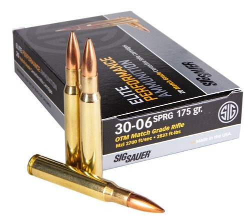 Sig Ammo .30-06 175gr, OTM Match, 20rd Box