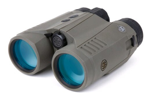 Sig KILO3000BDX Rangfinding Binocular, Class 1M, OD Green