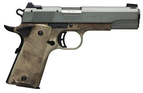 "Browning 1911 Black Label, .22 LR, 3 5/8"" Barrel, 10rd, ATACS-AU"