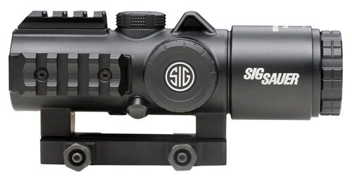 Sig Bravo5 Battle Sight, 5X30mm, 556-762 Horseshoe DOT Illum Reticle, 0.5 Moa, M1913, Graphite