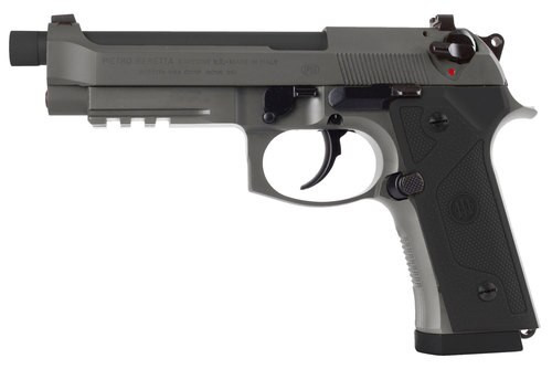 "Beretta M9A3, 9mm, 5.2"" Barrel, 17rd, Gray Steel"