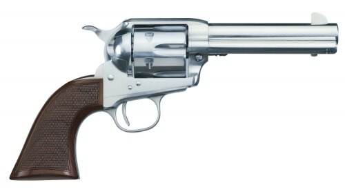 "Uberti 1873 El Patron, .45 Colt, 4.75"" Barrel,  6rd, Stainless"