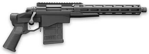 "Remington 700-CP Chassis Pistol 308/7.62 12.5"" Barrel Black Hard Coat Anodized/Black Cerakote, 10rd Mag"