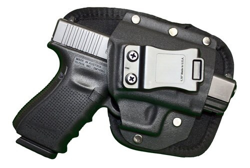 Crossfire Elite Shooting Gear The EDC Black Nylon Holster