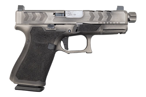 "Glock G19 Gen5 MOS Impact Guns Customized Edition 9mm, 4"", Ameriglo Suppressor Sights, 15rd"