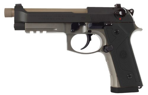 "Beretta M9A3, 9mm, 5.1"" Barrel, 10rd, Black Slide, Flat Dark Earth"