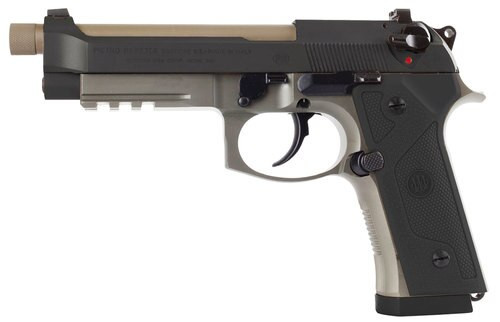 "Beretta M9A3 Type F, 9mm, 5.2"" Barrel, 17rd, Black Slide, Flat Dark Earth"