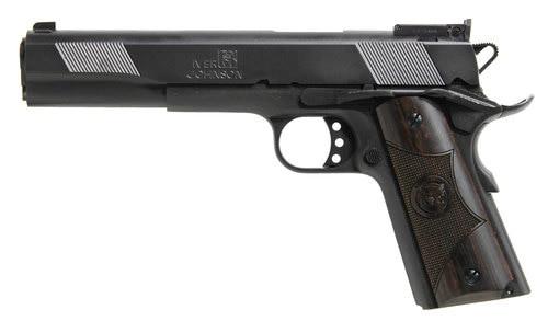 """Iver Johnson 1911 Eagle XL, 10mm, 6"""" Barrel, 8rd, Black"""
