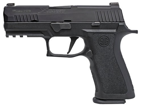 "Sig P320 X-Carry Double 9mm, 3.9"", Black Nitron Stainless Steel, 17rd"