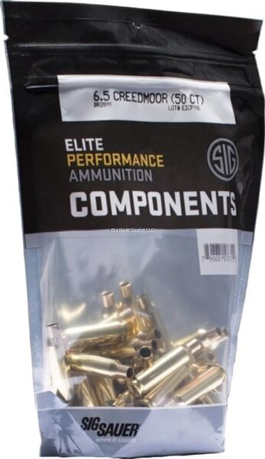 Sig Component Brass 6.5 Creedmoor, 50/Bag