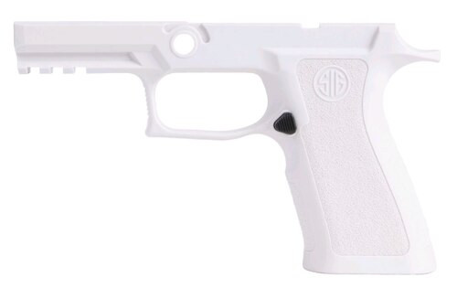 Sig Grip Module Assy P320 X-Series Full Size 9mm/40SW/357 Sig, Medium, White