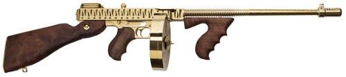 """Thompson 1927-A1, 45 ACP, 16.5"""", 50rd/20rd, American Walnut"""