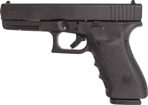 GLOCK 21SF 45 ACP GEN-3 FIXED SIGHTS, GOOD/VERY GOOD CONDITION 3-13RD MAGS