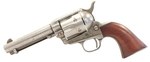 "Taylors 1873 Cattleman, .357 Mag, 4.75"" Barrel, 6rd, Antique"