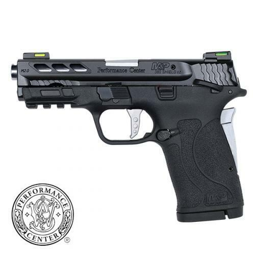 Smith & Wesson M&P Shield EZ M2.0 Performance Center 380 ACP, Silver Ported Barrel