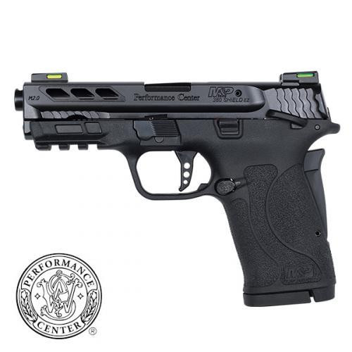 Smith & Wesson M&P Shield EZ M2.0 Performance Center 380 ACP, Black Ported Barrel, 8rd