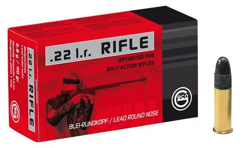 Geco 22LR Rifle 40 Lrn Bolt, 50rd Box
