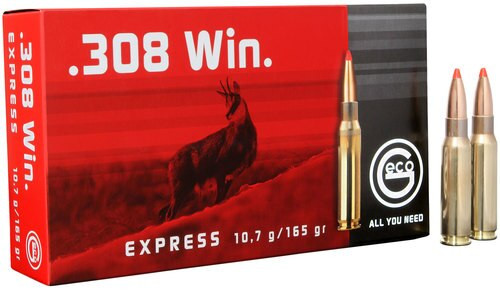Geco 308 Win Exp 165gr, 20rd Box