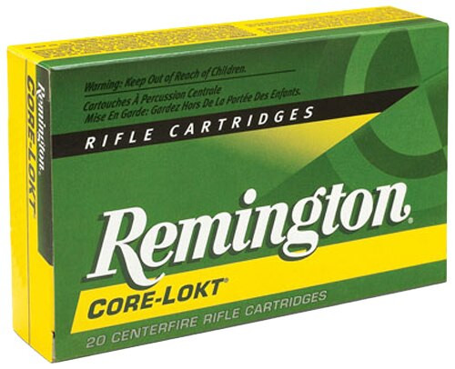 Remington Core-Lokt 338 Rem Ultra Mag Pointed Soft Point 250gr 20rd Box