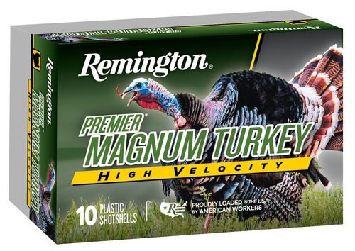 "Remington Ammo Premier High-Velocity Magnum Turkey 12 Ga, 3.5"" 2 oz 4 Shot, 5rd/Box"