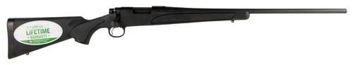 "Remington 700 ADL 243 Win, 24"" Barrel, Synthetic Black Stock Blued, 4rd"