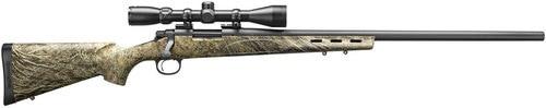 "Remington 700 ADL with Scope 22-250 Rem, 26"" Barrel, Synthetic Mossy Oak Brush Stock Black, 4rd"