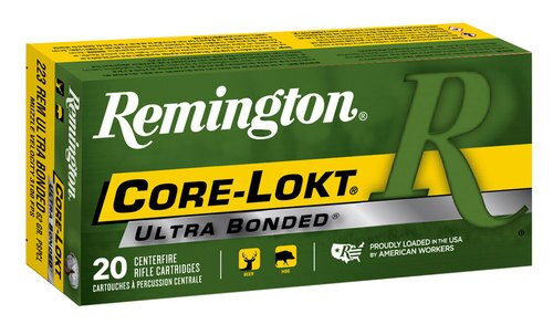 Remington Ammo 223 Rem 62gr, PSP, 20rd Box