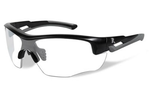 Remington Wiley X RE 301 Shooting/Sporting Glasses Youth Black/Gray Frame Clear