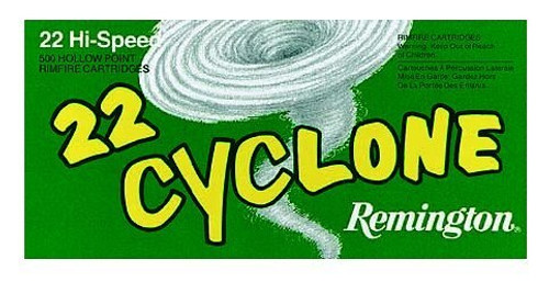 Remington Ammo Cyclone 22LR 36gr, Hollow Point, 50rd Box