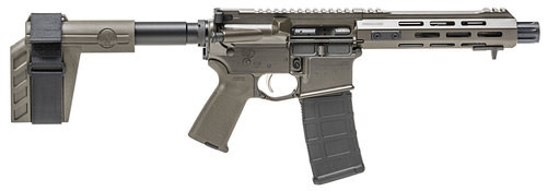 "Springfield Saint, .223/5.56, 7.5"", 30rd, SBX-K Arm Brace, OD Green"