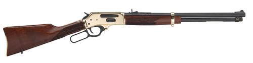 "Henry Side Gate Lever 38-55 Winchester 20"" Barrel, American Walnut Stock Brass Receiver/Blued Barrel, 5rd"