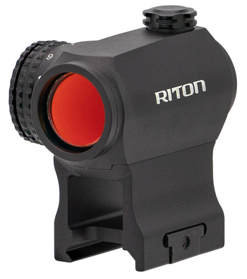RITON OPTICS RT-R Mod 3 RMD, 1x23mm, 68 ft @ 100 yds, 2 MOA Red Dot, Matte Black