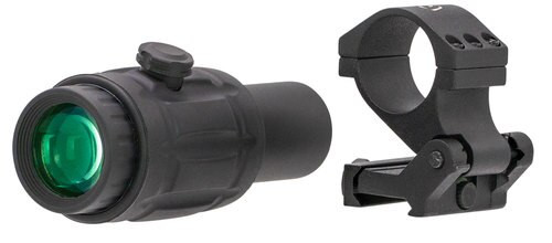 RITON OPTICS RT-R Mod 3 Magnifier, 3x23mm, Black Matte