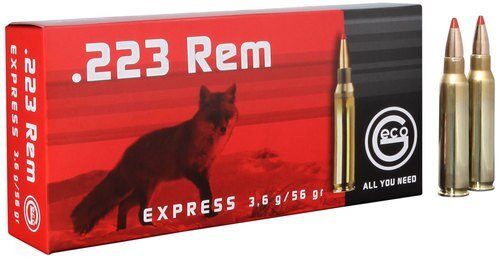 Geco 223 Remington Exp 56gr, 20rd Box