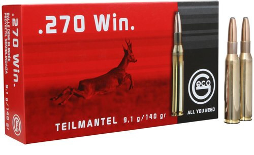 Geco 270 Win Tm 140gr, 20rd Box