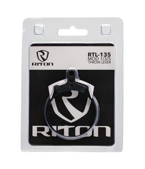 RITON OPTICS 135, Throw Lever, 6061 T6 Aluminum, Black