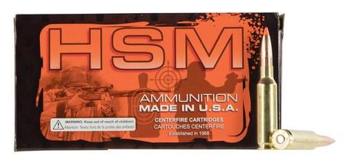 HSM Low Recoil 6.5 Creedmoor 140gr, 20rd Box
