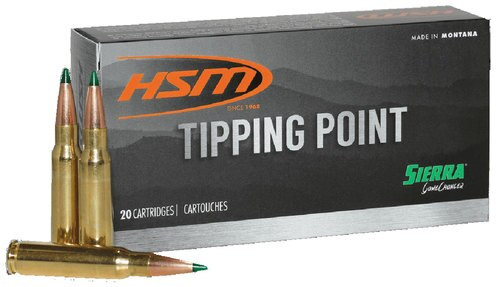 HSM TP 6mm Creedmoor 90 SGK, 20rd Box