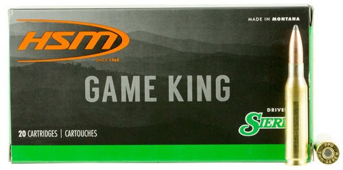 HSM Game King 7mm-08 Remington 150gr, SBT, 20rd Box
