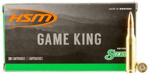 HSM Game King 7mm-08 Remington 160gr, SBT, 20rd Box