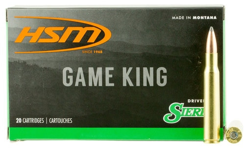 HSM Game King 300 RUM 165gr, SBT, 20rd Box